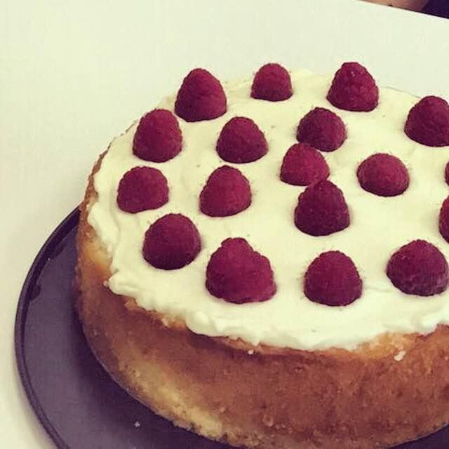 Raspberry-Lemon Cake