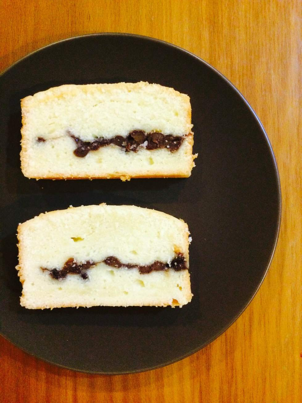 Azuki Cream Cheese Pound Cake